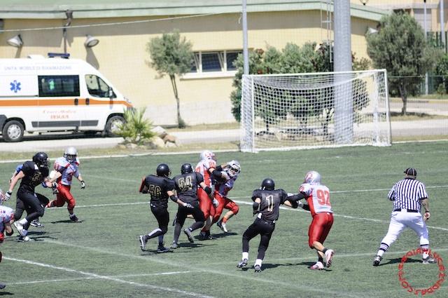 Crusaders Cagliari vs Dragons Salento, 48-0, 29 maggio 2011 127