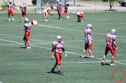 Crusaders Cagliari vs Dragons Salento, 48-0, 29 maggio 2011 16