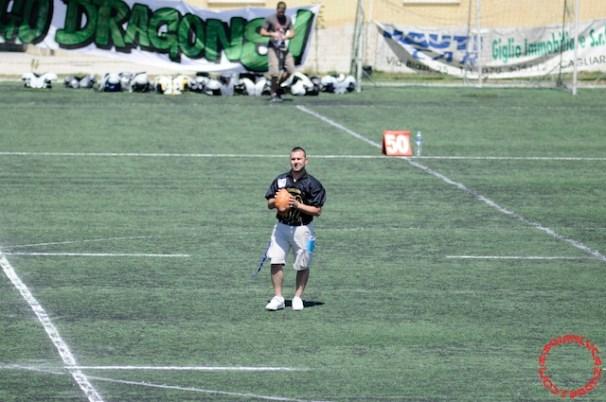 Crusaders Cagliari vs Dragons Salento, 48-0, 29 maggio 2011 22