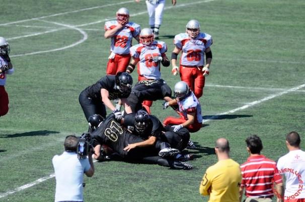 Crusaders Cagliari vs Dragons Salento, 48-0, 29 maggio 2011 250
