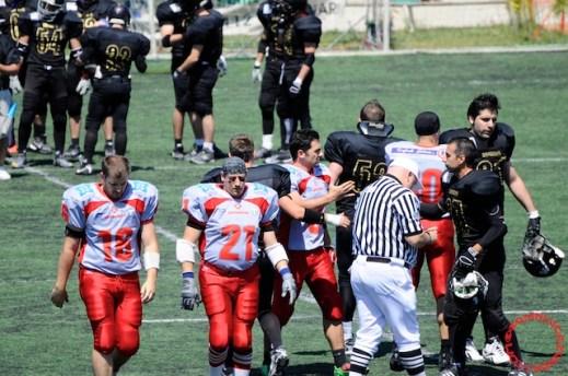 Crusaders Cagliari vs Dragons Salento, 48-0, 29 maggio 2011 58