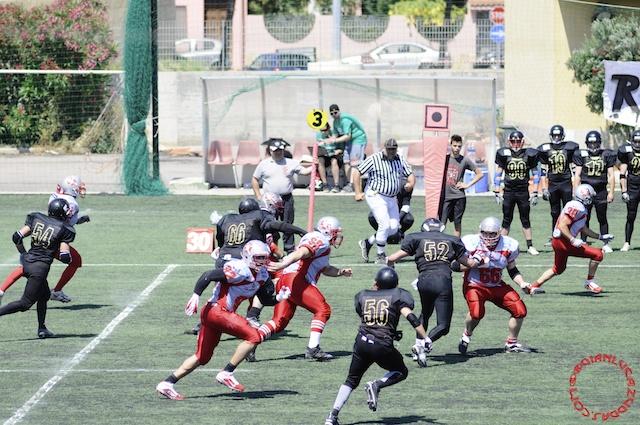 Crusaders Cagliari vs Dragons Salento, 48-0, 29 maggio 2011 72
