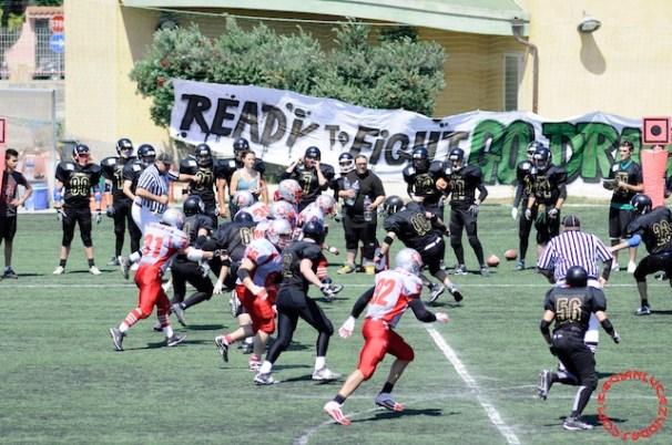 Crusaders Cagliari vs Dragons Salento, 48-0, 29 maggio 2011 74