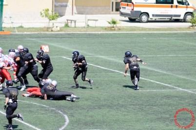 Crusaders Cagliari vs Dragons Salento, 48-0, 29 maggio 2011 80