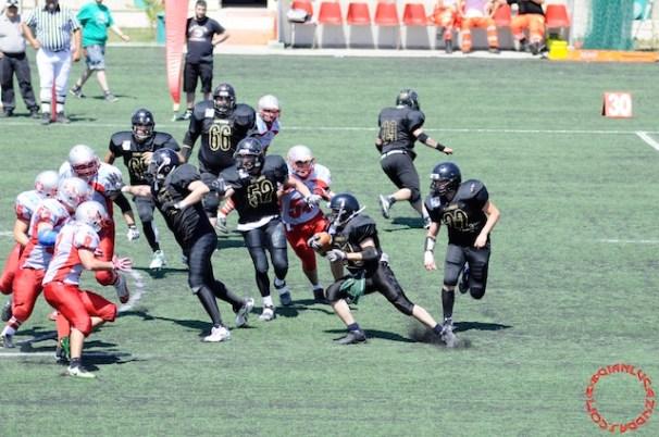 Crusaders Cagliari vs Dragons Salento, 48-0, 29 maggio 2011 85