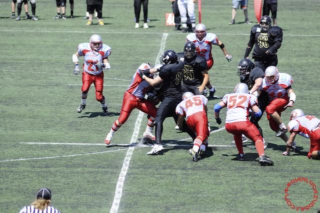 Crusaders Cagliari vs Dragons Salento, 48-0, 29 maggio 2011 86