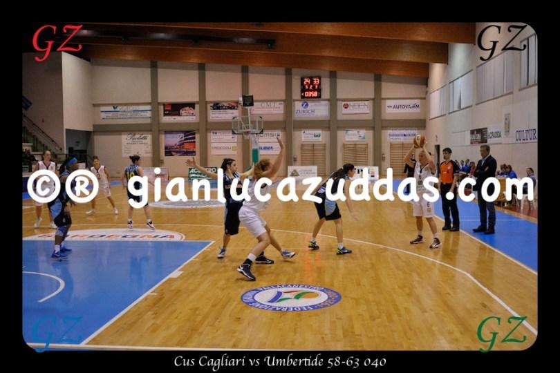 Cus Cagliari vs Umbertide 58-63 040