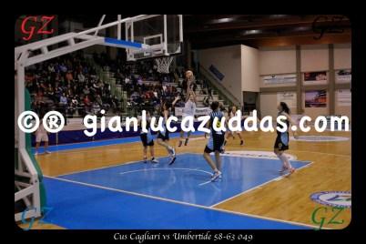 Cus Cagliari vs Umbertide 58-63 049