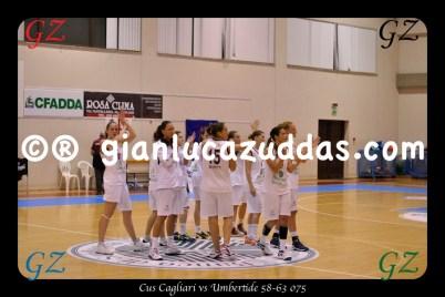 Cus Cagliari vs Umbertide 58-63 075
