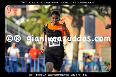 XIII Prova Superpremio 2014 -16