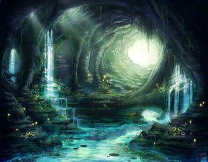 Grotta luminosa