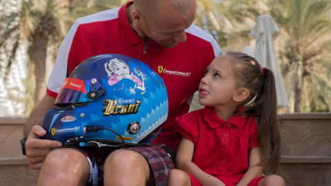 "Gimmi bruni helmet for ""one day Sofia"""