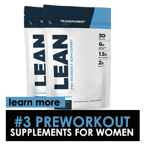Transparent Labs PreSeries LEAN Pre-Workout supplements for women
