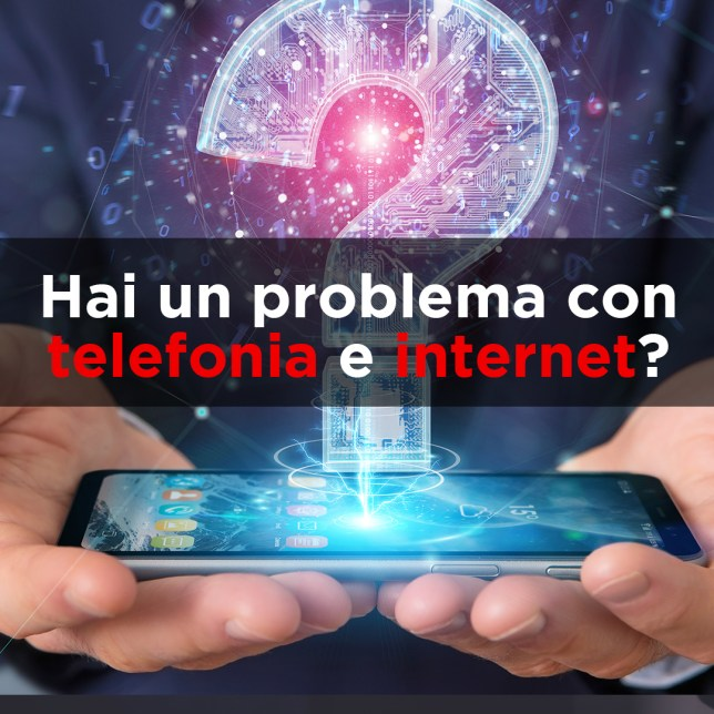 problema  luce gas internet telefonia o pay tv