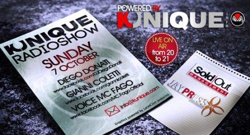 """New Exclusive """"Gianni Coletti Kunique Radio Show"""" on Radio M2O"""