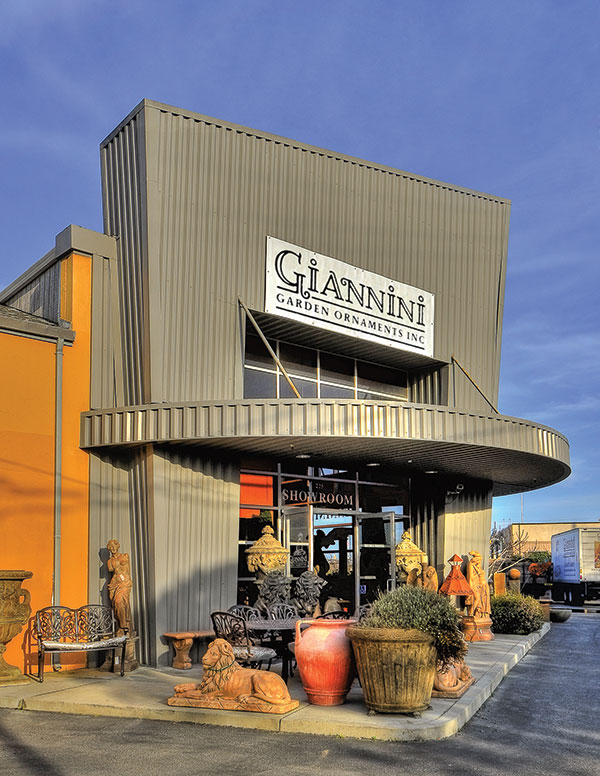 Giannini Fountain Showroom in South San Francisco