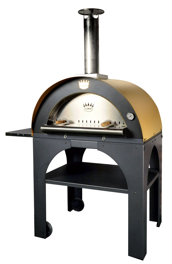 Pulcinella Pizza Oven with Mustard Roof