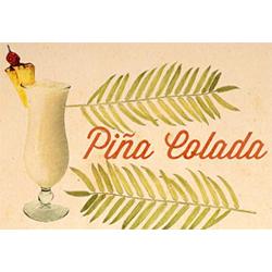 Pina Colada a Portorico tiki