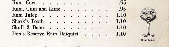 ricetta dons special daiquiri myers's mona daiquiri