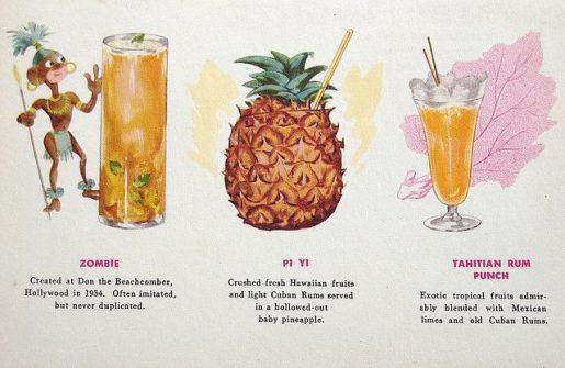 ingredienti dei cocktail tiki miscelazione