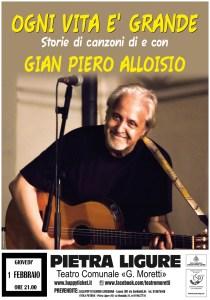 Ogni vita è grande - Storie di canzoni @ Teatro Moretti - Pietra Ligure (SV) | Pietra Ligure | Liguria | Italia