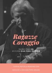 Gian Piero Alloisio in Ragazze Coraggio @ Teatro Comunale - Rossiglione (GE) @ Teatro Comunale - Rossiglione (GE) | Rossiglione | Liguria | Italia