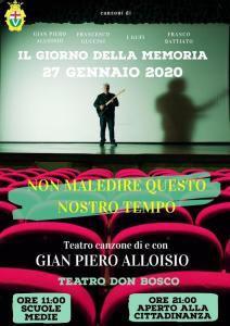 Gian Piero Alloisio - Riflessioni teatrali musicali sul film « Processo di Norimberga » @ Cinema Teatro Don Bosco - Varazze (SV) | Varazze | Liguria | Italia