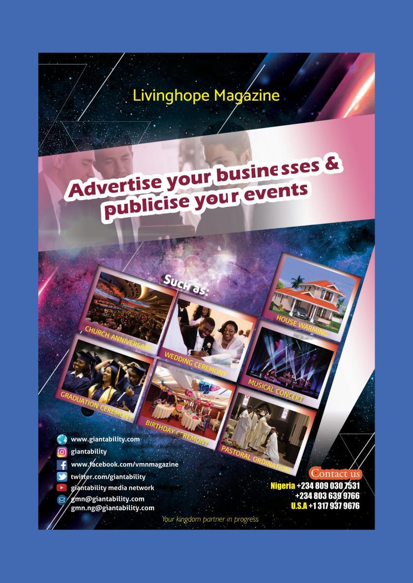 Living Hope Magazine Page 2