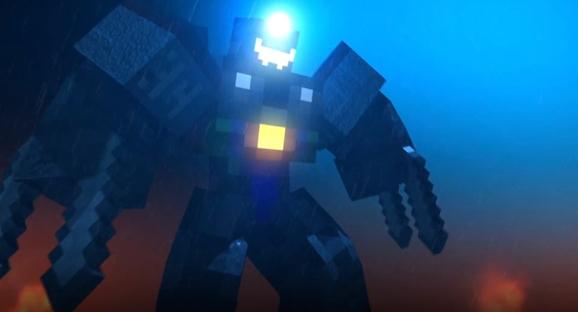 Pacific Rim Meets Minecraft