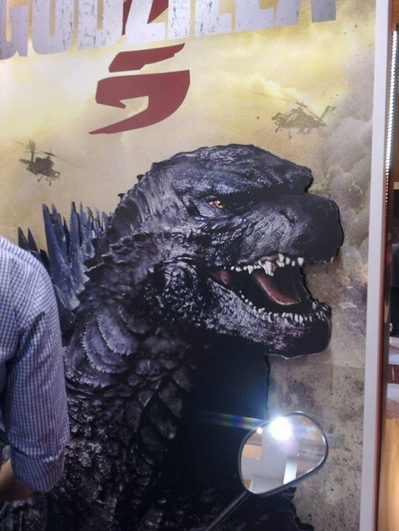 Godzilla Has Been Revealed And He Is Marvelous Giant