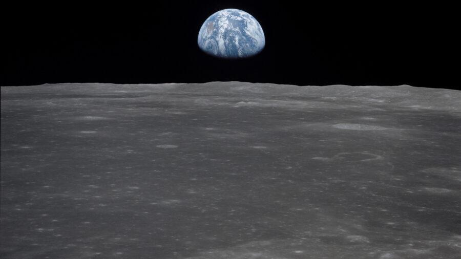 NASA on the moon