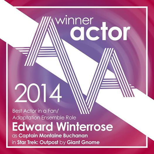 Edward Winterrose - 2014 Best Actor in a Fan Production