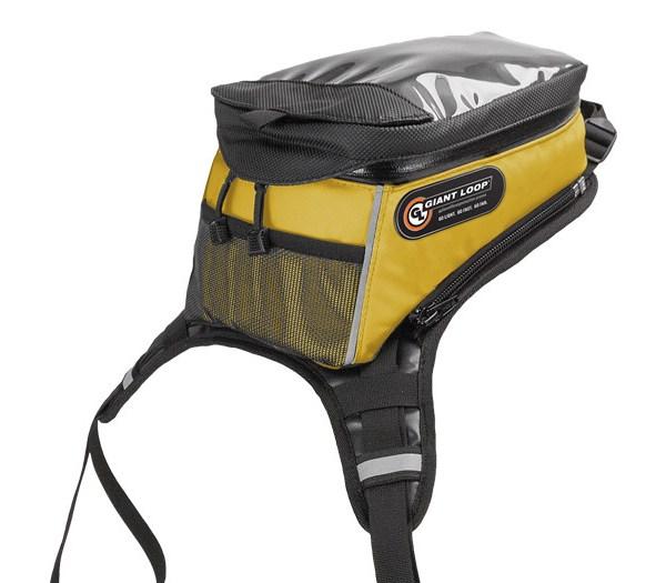 Diablo Pro Tank Bag in yellow