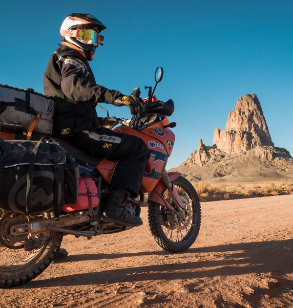 Tolga Basol, Ride Must Go On! on KTM 1190 Adventure with Giant Loop