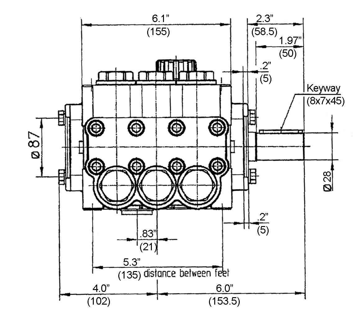 1 Hp Vertical Well Pump