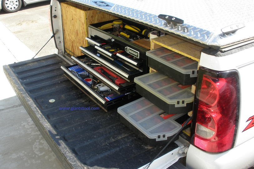 How to install a truck tool box