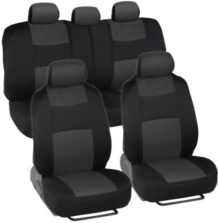 Gray PolyPro Car Seat Covers