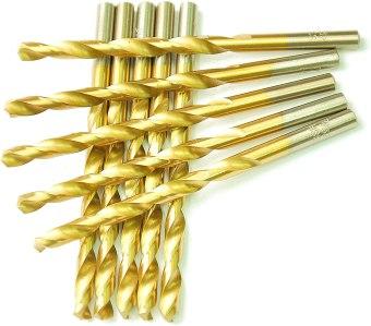 Titanium Coated Twist Drill Bits