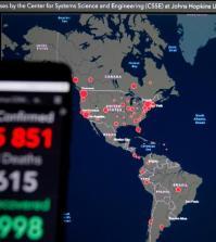 Παγκόσμιος Χάρτης Κορονοϊου - Ελλάδα - Κόσμος