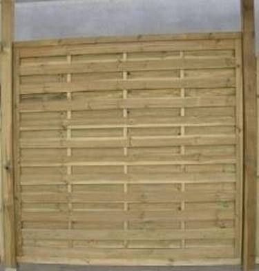 Traliccio frangivento pannello 180x180cm recinzione recinto giardino legno. Divisori Per Giardini Grigliati E Frangivento