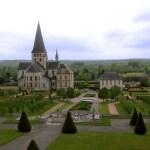 I giardini dell'Abbazia di Saint Georges de Boscherville