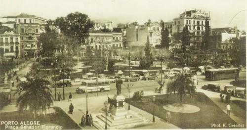Praça da Alfândega - 1930