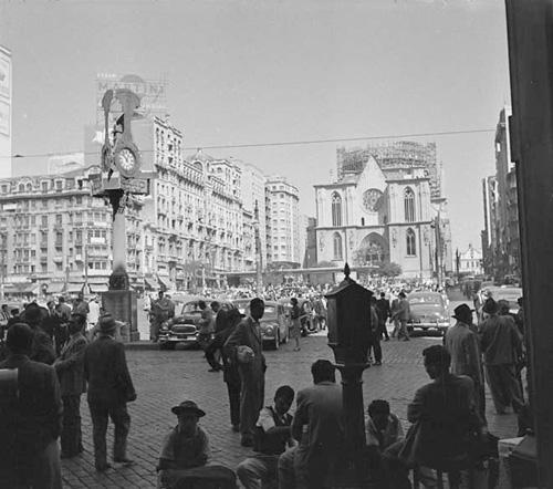 Praça da Sé 1954