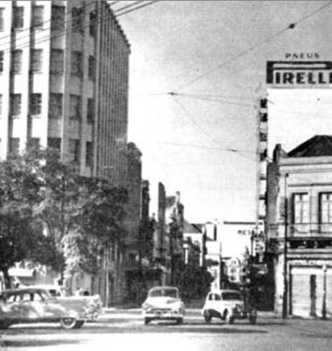 Rua Voluntários da Pátria em 1953