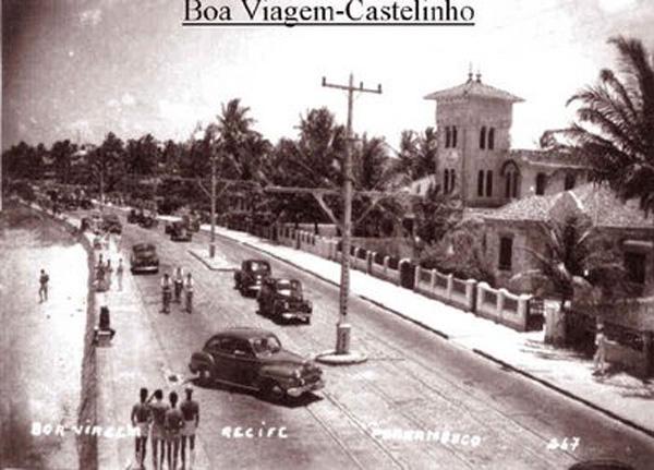 Boa Viagem em 1950