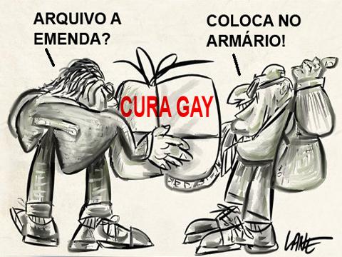 Cura Gay no armário por Lane