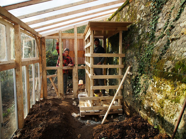 La serre poulailler la gibbeuse - Plan construction serre jardin ...