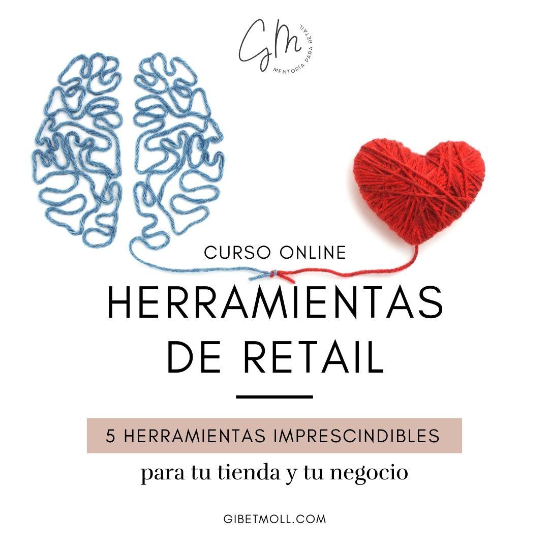 Gibet Moll Mentoría Retail Herramientas Retail Curso online
