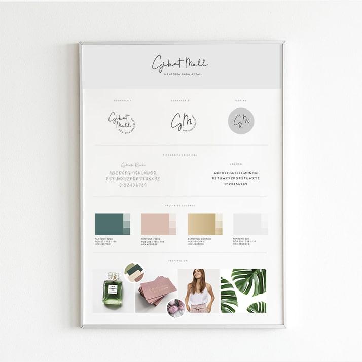 Gibet Moll Mentoría para Retail Brandbook