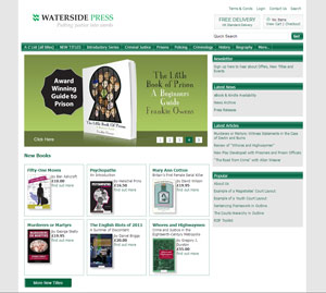 WatersidePress.co.uk website image
